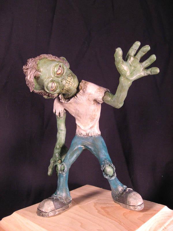 Zombie Maquette